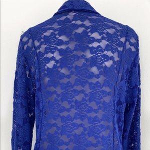 INC International Concepts Jackets & Coats - INC INTERNATIONAL CONCEPTS LACE BLAZER SZ XL